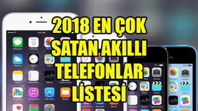 Photo of 2018 En Çok Satan Akıllı Telefonlar Listesi Açıklandı!