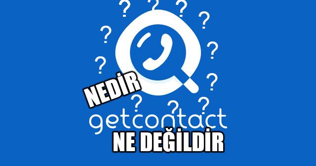getcontact nedir?