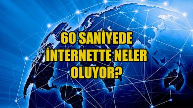 Photo of İnternette 60 Saniyede Neler Oluyor?