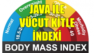 Photo of Java ile Vücut Kitle İndexi Hesaplama