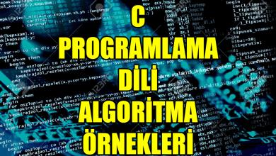 Photo of Armstrong Sayı – Algoritma Örnekleri C Programlama