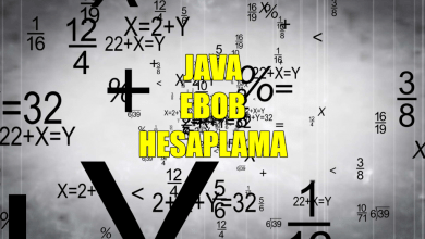 Photo of Java ile Ebob Hesaplama