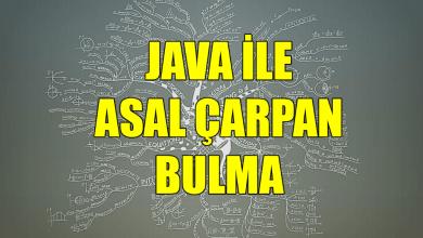 Photo of Java ile Asal Çarpanlar Nasıl Bulunur?