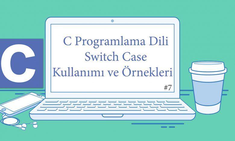 switch case kullanımı