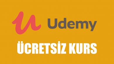Photo of Ücretsiz Udemy Kursu Hediyesi