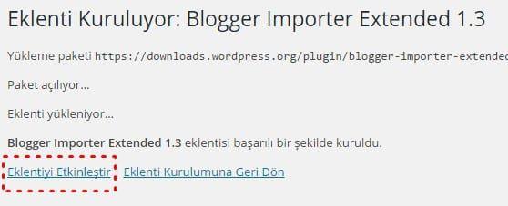 Blogger Importer Extended nedir