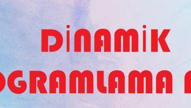 Photo of Dinamik Programlama Nedir ve Nerede Kullanılır?