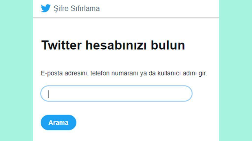 twitterda şifre nasıl değiştirilir