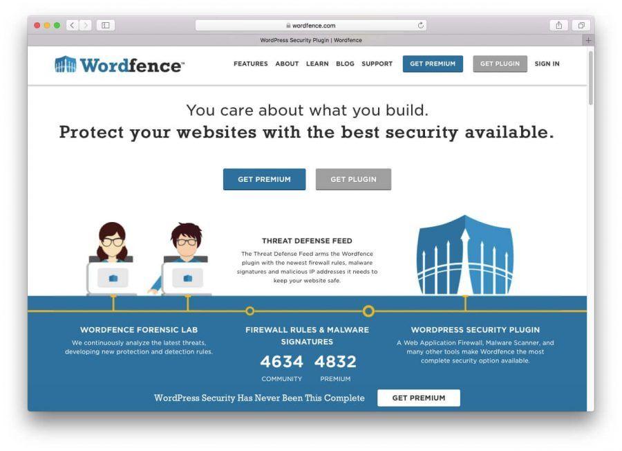 WordPress güvenlik eklentisi