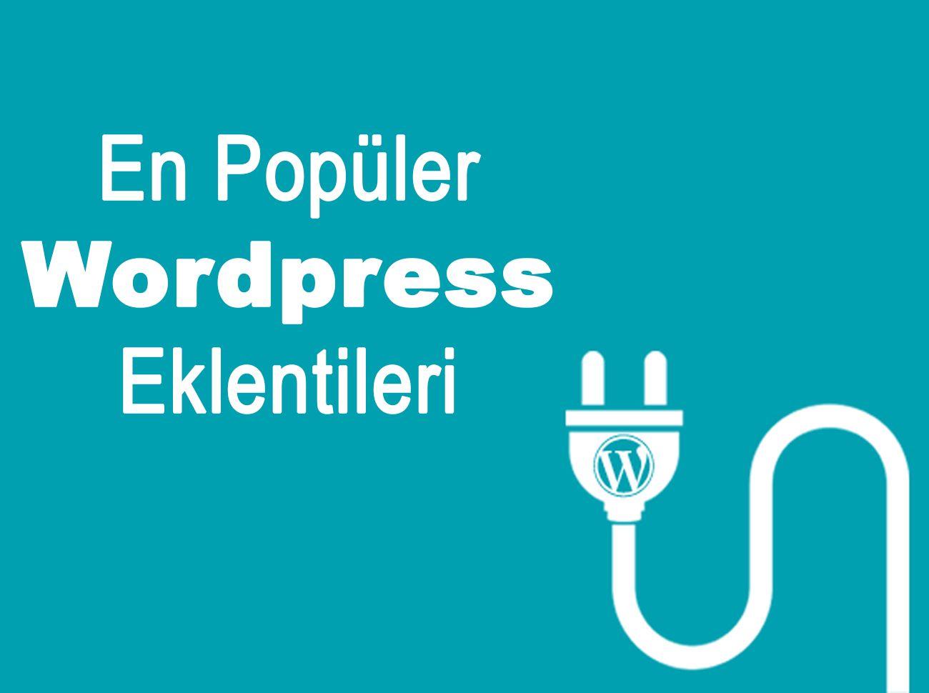 Photo of En İyi WordPress Eklentileri