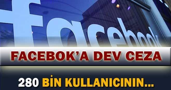 Facebook veri ihlalinden ceza aldı.