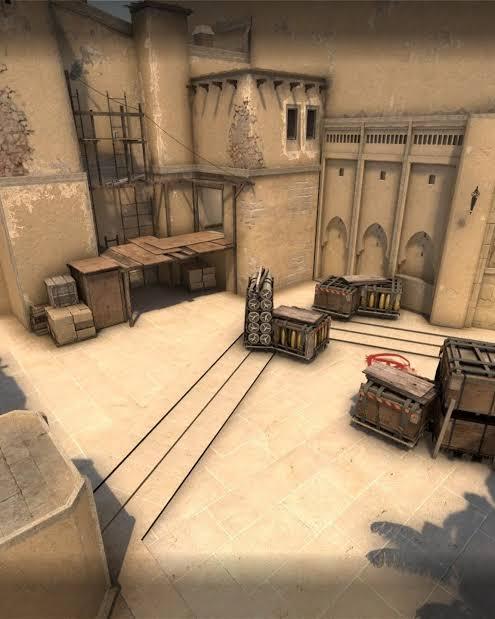 CS:GO mirage haritası