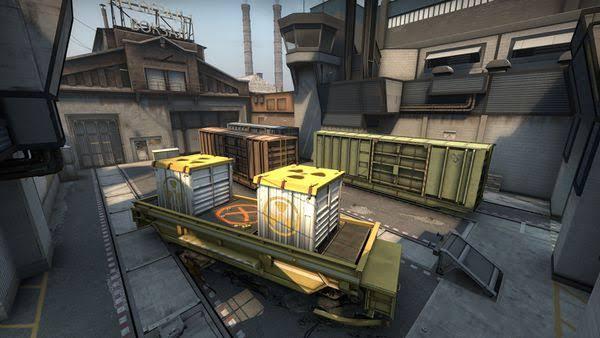 CS:GO train haritası