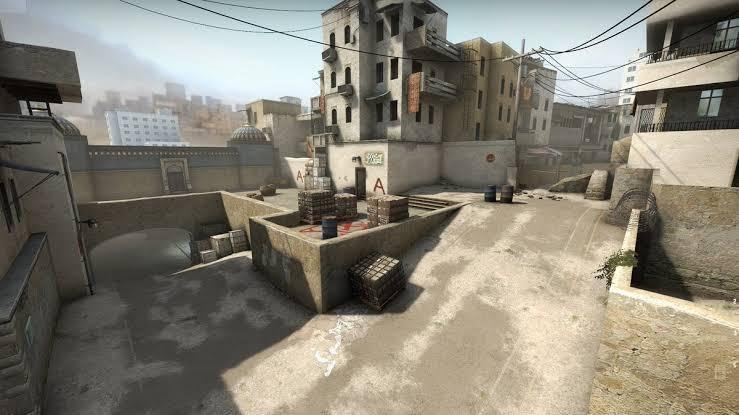 CS:GO dust2 haritası