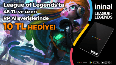 Photo of İninal'dan League of Legends Kampanyası!