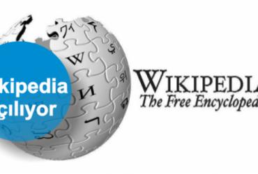 wikipedia yeniden açıldı