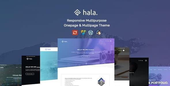 Hala WordPress teması