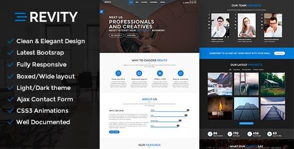 Revity WordPress teması