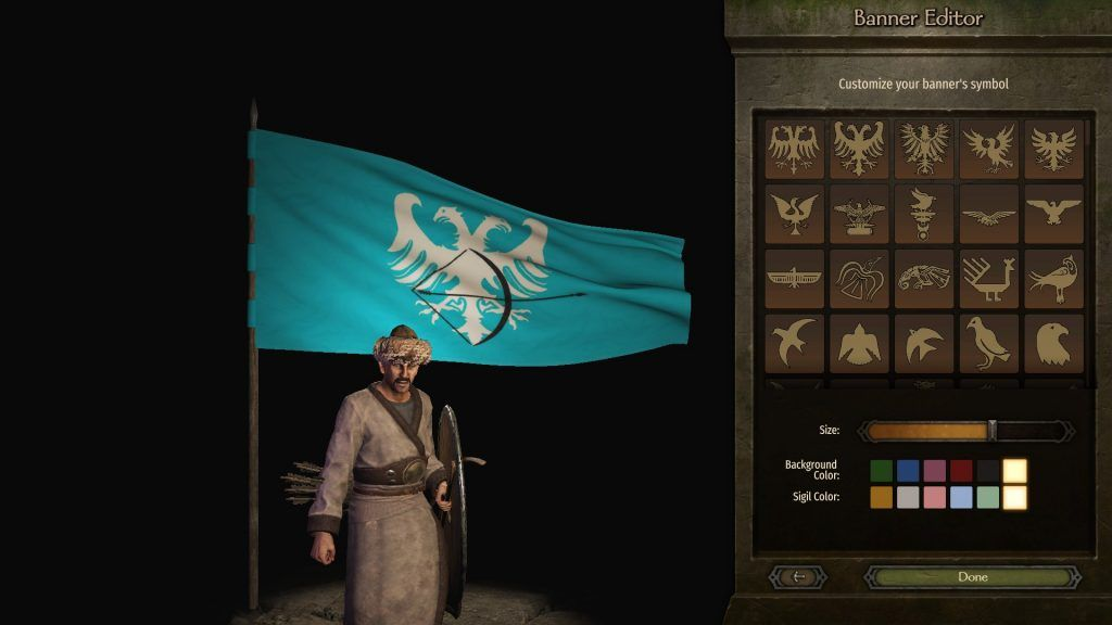 Bannerlord büyük selçuklu devleti bayrağı