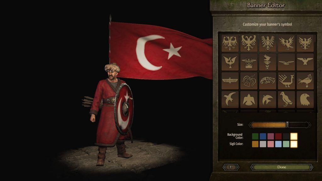 Bannerlord Türkiye bayrağı
