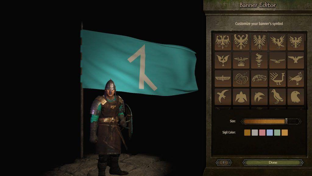 Bannerlord Afşarlar bayrak tasarımı