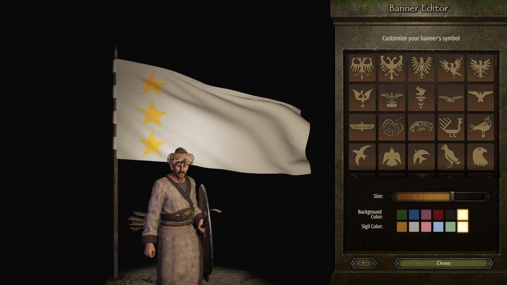 Bannerlord ak hunlar bayrak tasarımı