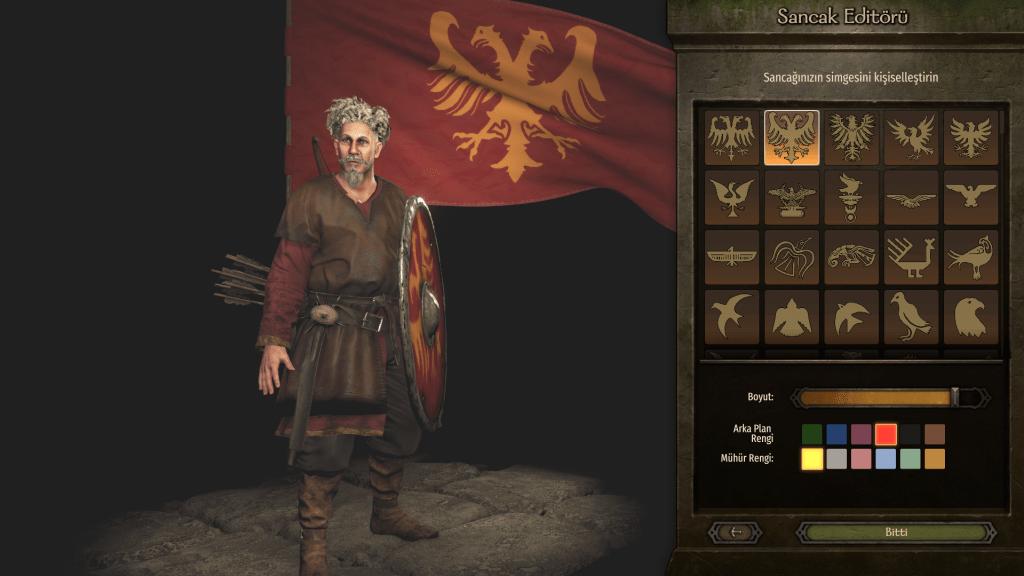 Bannerlord bayrak tasarlama