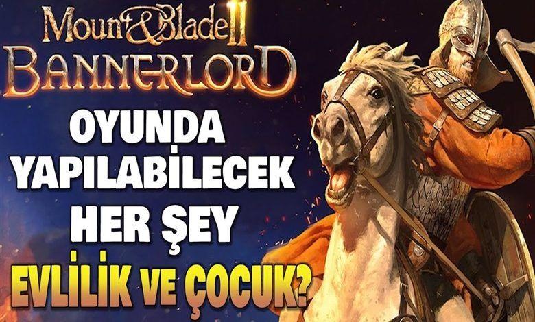 Mount & Blade II: Bannerlord evlilik