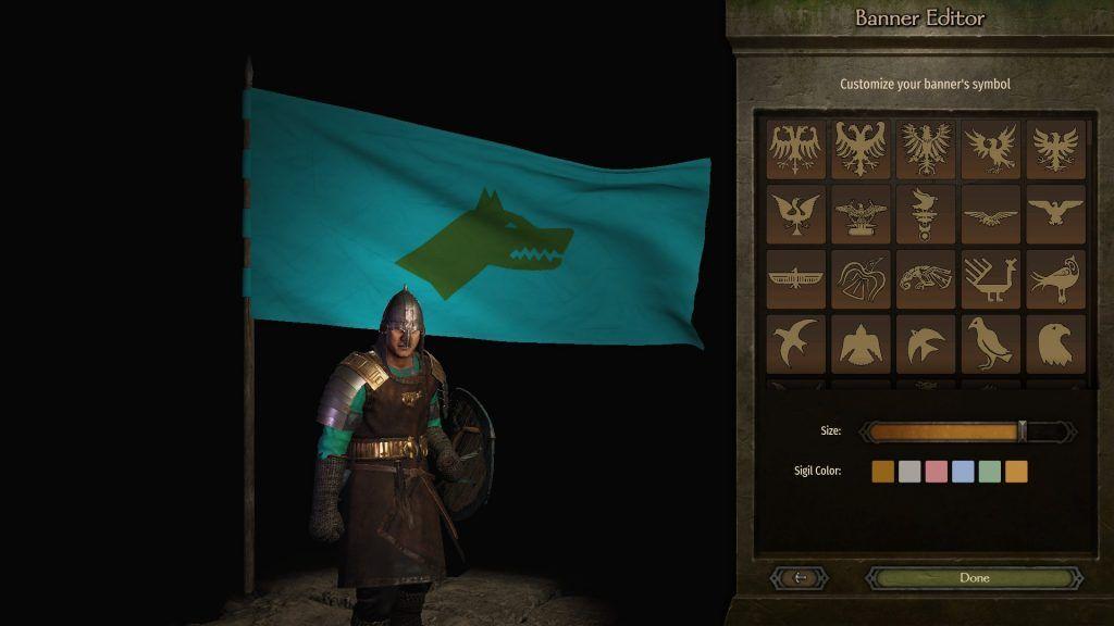 Bannerlord Göktürkler bayrak tasarımı