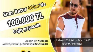 Photo of Enes Batur Dlive'da 100.000₺ Ödül Dağıtacak