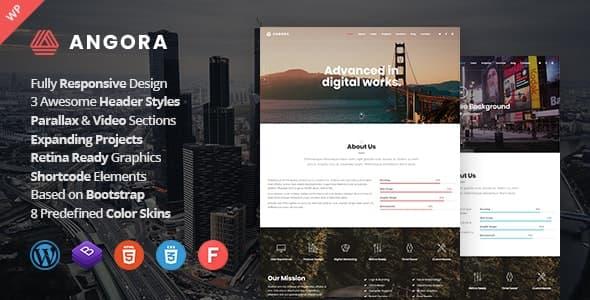 Angora wordpress teması