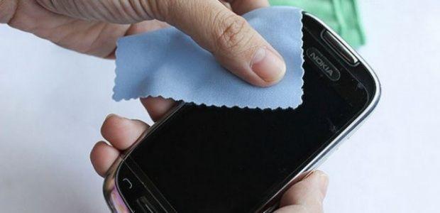 akıllı telefon temizleme