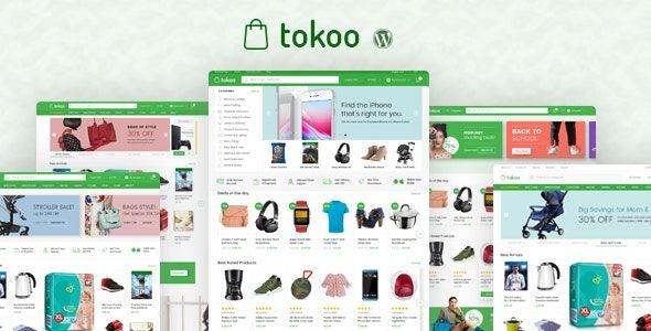 Tokoo WordPress teması