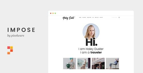 Impose blog WordPress teması