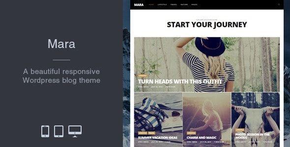 Mara WordPress teması