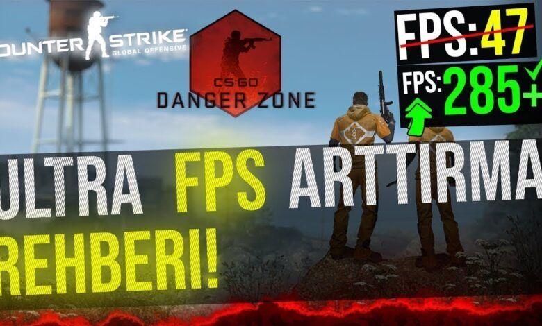 CS:GO FPS arttırma yolları