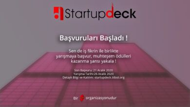 Photo of StartupDeck Girişimcilik Etkinliği 2020