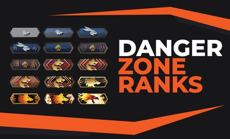 CS:GO danger zone ranks ve CS:GO danger zone rütbeleri