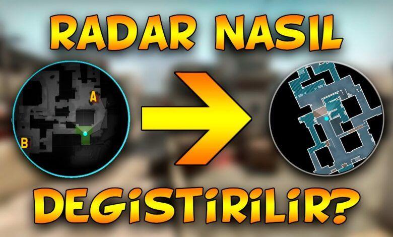 CS:GO radar ayarları