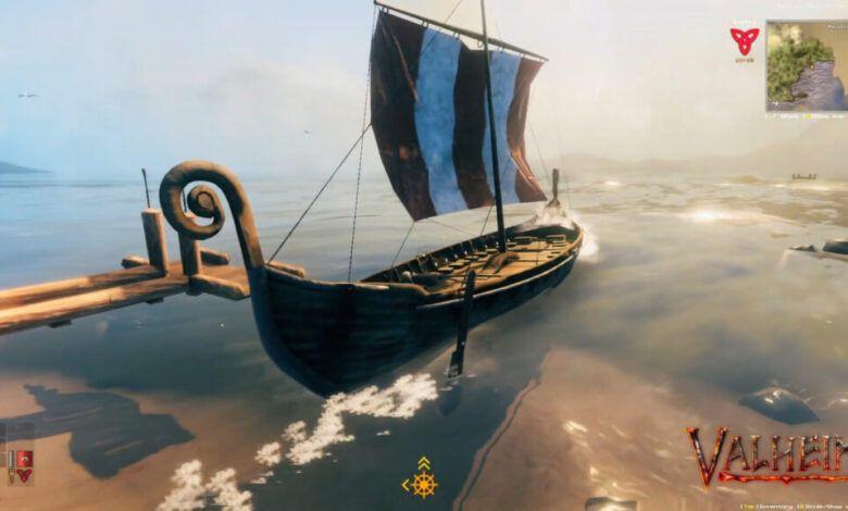 Valheim gemi yapımı