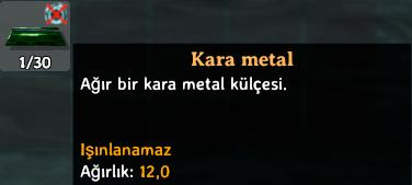 Valheim kara metal nasıl işlenir