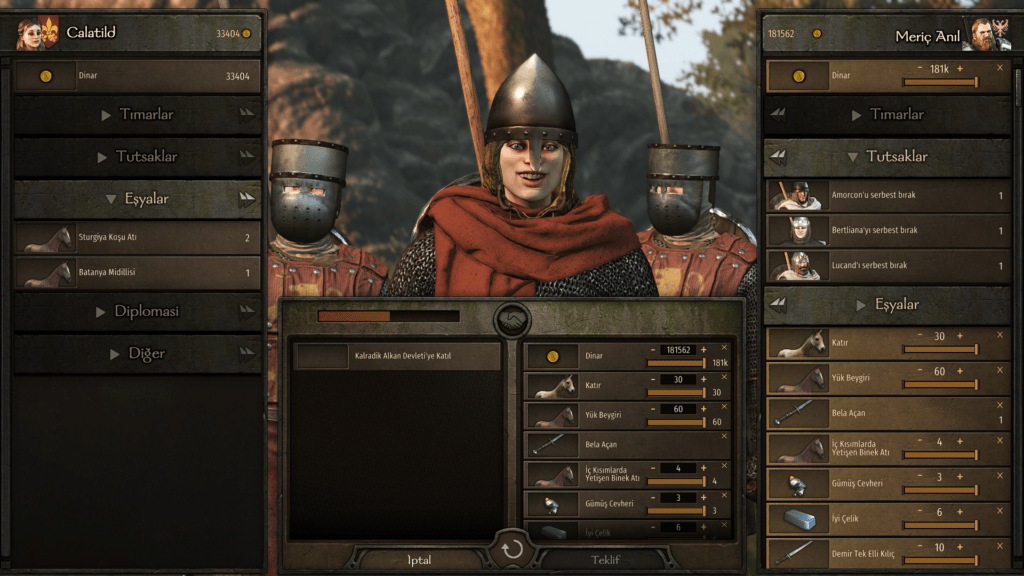 bannerlord lord çekme